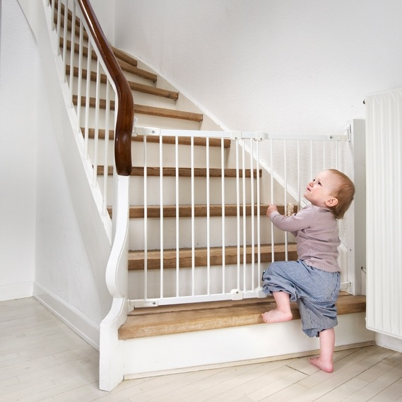 Image result for baby gate for stairs